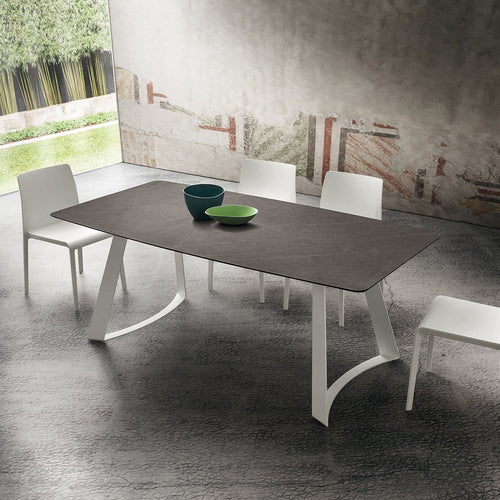 Bruno fixed dining table by La Primavera - myitalianliving