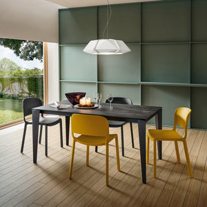Carlo fixed or extending dining table by La Primavera - myitalianliving