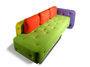 Funky unique Italian 2/3 seater sofa