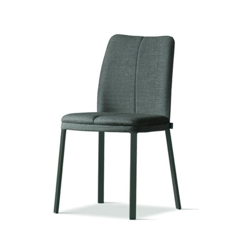 Chicco upholstered fabric dining chair by Sedit