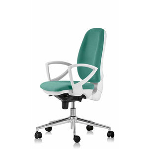 Contemporary office armchair Rio by Colombini