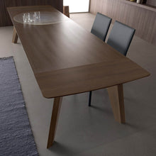 Load image into Gallery viewer, Fred Wooden dining Modern extending Italian table