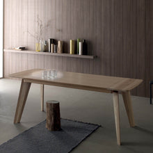 Load image into Gallery viewer, Fred Wooden dining Modern extending Italian table by Compar