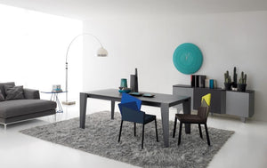 Plus wooden extending dining table