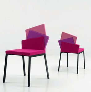 Contemporary upholstered dining chair Karina by Compar