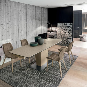 Copernico 160 extending dining table