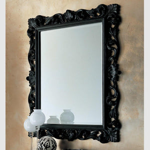 Bombo classic rectangular mirror by Dall'Agnese