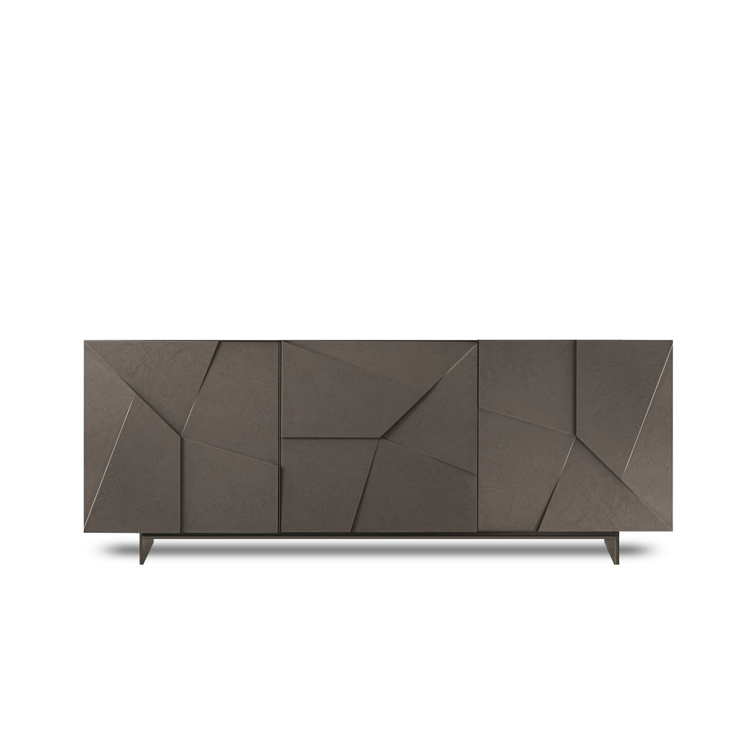 Modern Italian sideboard Concrete by Dall'Agnese