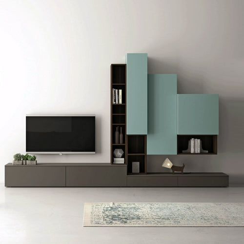 TV unit Slim 87 by Dall'Agnese