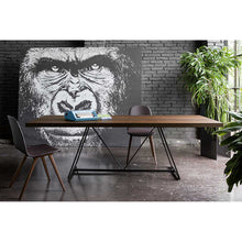Load image into Gallery viewer, Radar wooden dining table with lacquered base by Dall'Agnese - myitalianliving