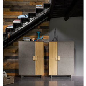 Contemporary free standing storage unit Pro by Dall'Agnese