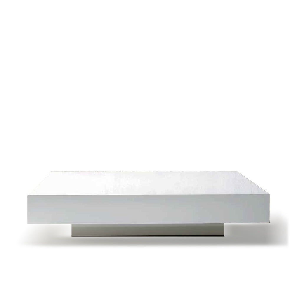 Quarzo low coffee table Square by Dall'Agnese