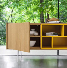 Load image into Gallery viewer, Contemporary long sideboard Wooden Modern