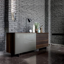 Load image into Gallery viewer, Slide sliding door wooden sideboard by Dall'Agnese
