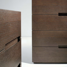 Load image into Gallery viewer, Asola chest of 3 embedded handle drawers by Dall'Agnese - myitalianliving