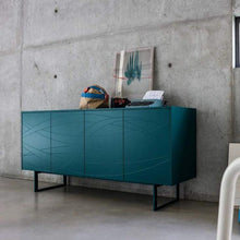 Load image into Gallery viewer, Fiamma sideboard in matt or gloss lacquered finish