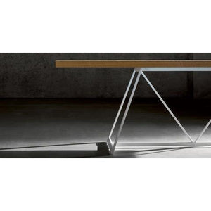 Radar lacquered base fixed table