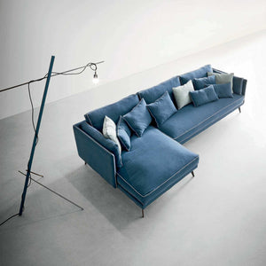 Milton contemporary Italian designer sofa by Dall'Agnese - myitalianliving