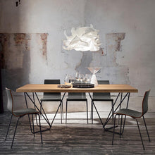 Load image into Gallery viewer, Denis antique natural oak dining table by La Primavera - myitalianliving