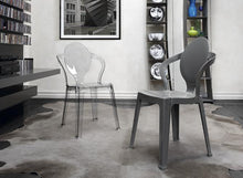 Load image into Gallery viewer, King translucent stacking dining chair by Scab Design