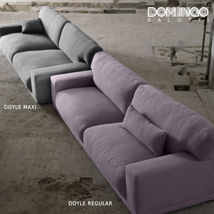 Contemporary modular 4 seater sofa Doyle by Domingo Salotti