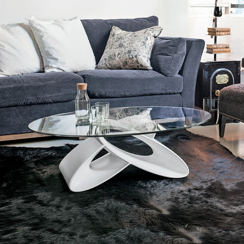 Eclipse modern sculpted coffee table by Target Point