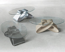 Load image into Gallery viewer, Eclipse modern sculpted coffee table