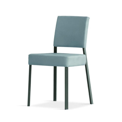 Lisa upholstered eco-leather dining chair by Sedit