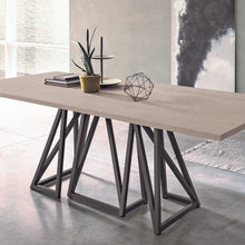 Load image into Gallery viewer, Enigma modern geometric base dining table by Sedit