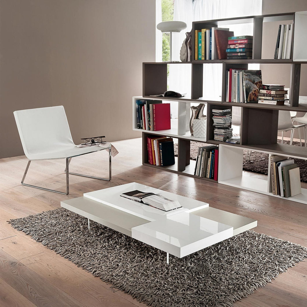 Erica lacquered wooden coffee table by La Primavera - myitalianliving