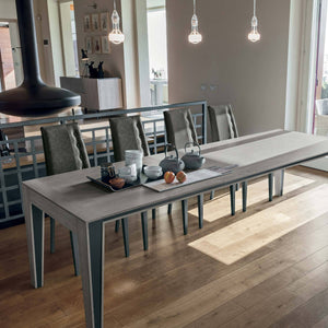 Exodus 180 laminate extending dining table