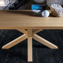 Load image into Gallery viewer, Flower wooden three legged dining table by Dall'Agnese