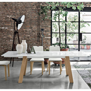 Giove 160 extendable dining table