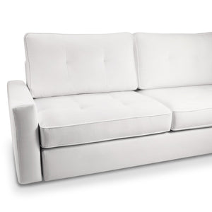 Modern Italian corner 5 seater sofa Glenn by Domingo