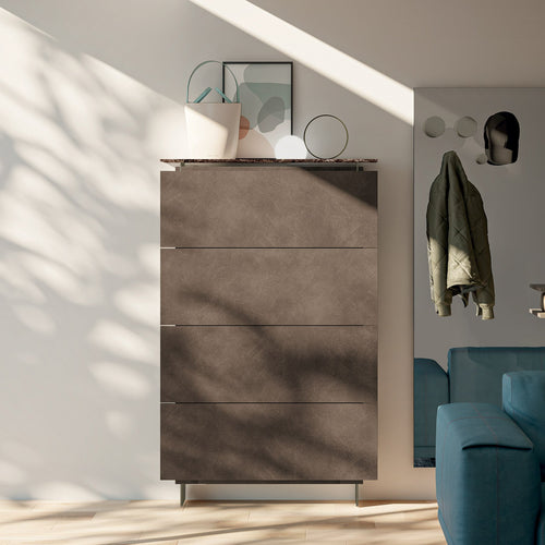 Hosoi 4 door resin shoe storage cabinet by Birex - myitalianliving