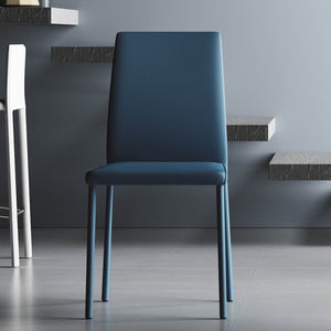 Modern Stacking dining leather chair Manila by Imperial Line