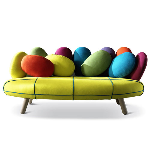 Ultramodern funky Italian 2-P sofa by Adrenalina - myitalianliving