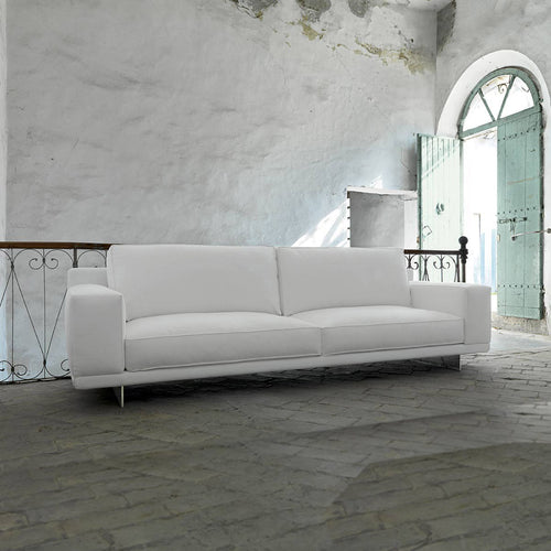 Contemporary Italian 3 seater sofa Bresson