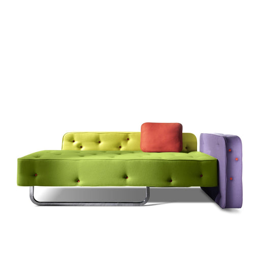 Funky unique Italian 2/3 seater sofa Chew