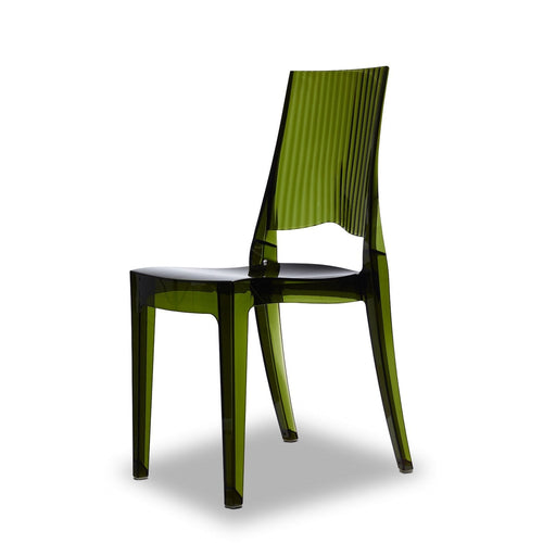 Contemporary stacking patio chair Class by Scab