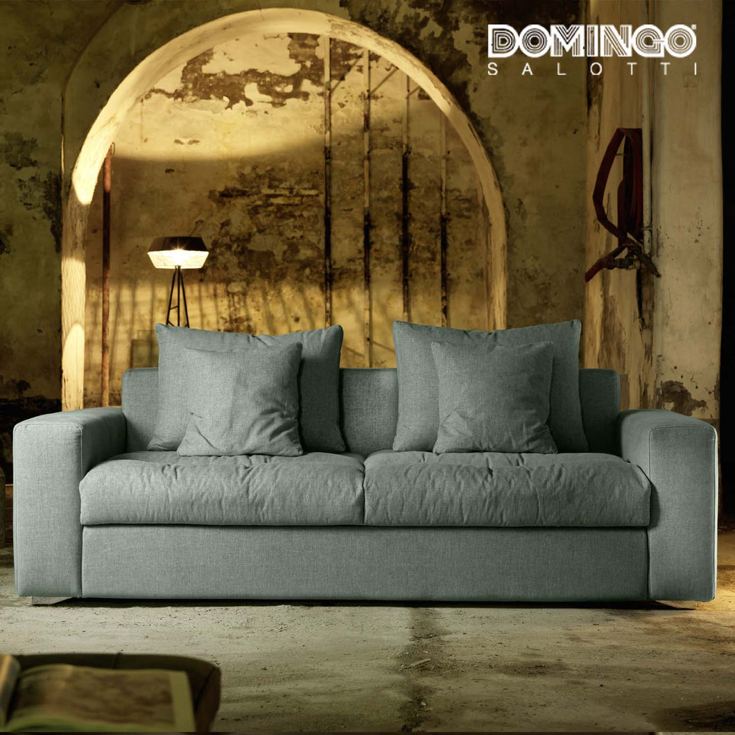 Modern Italian sofa bed Exton by Domingo Salotti
