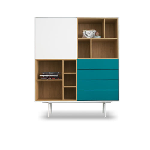 Contemporary square cupboard Garda