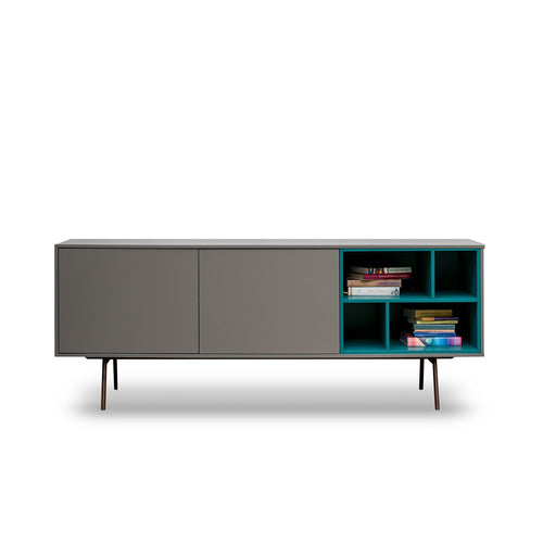 Code 2 freestanding sideboard with open unit