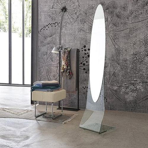 Mirror Curved glass free standing Narciso by Target