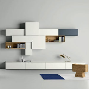 Slim 88 TV media unit composition by Dall'Agnese