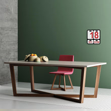 Load image into Gallery viewer, Feng Shui rectangular fixed dining table by Imperial Line