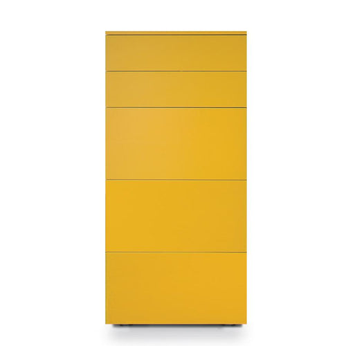 Slim 5 deep drawer tallboy by Dall'Agnese