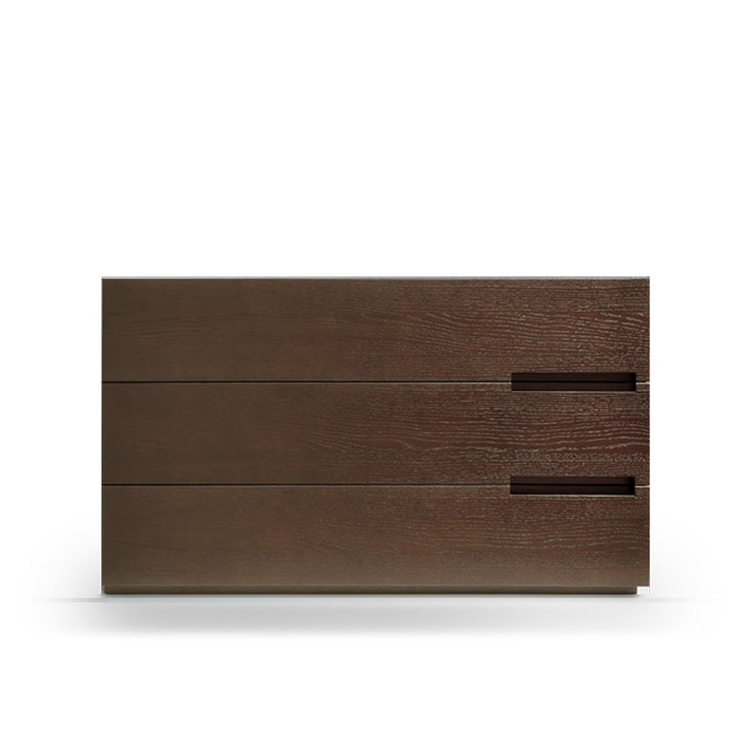 Asola chest of 3 embedded handle drawers by Dall'Agnese - myitalianliving