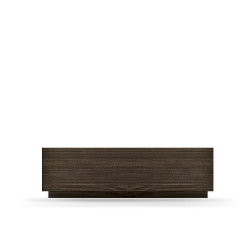 Super 1 drawer low nightstand with plinth by Dall'Agnese