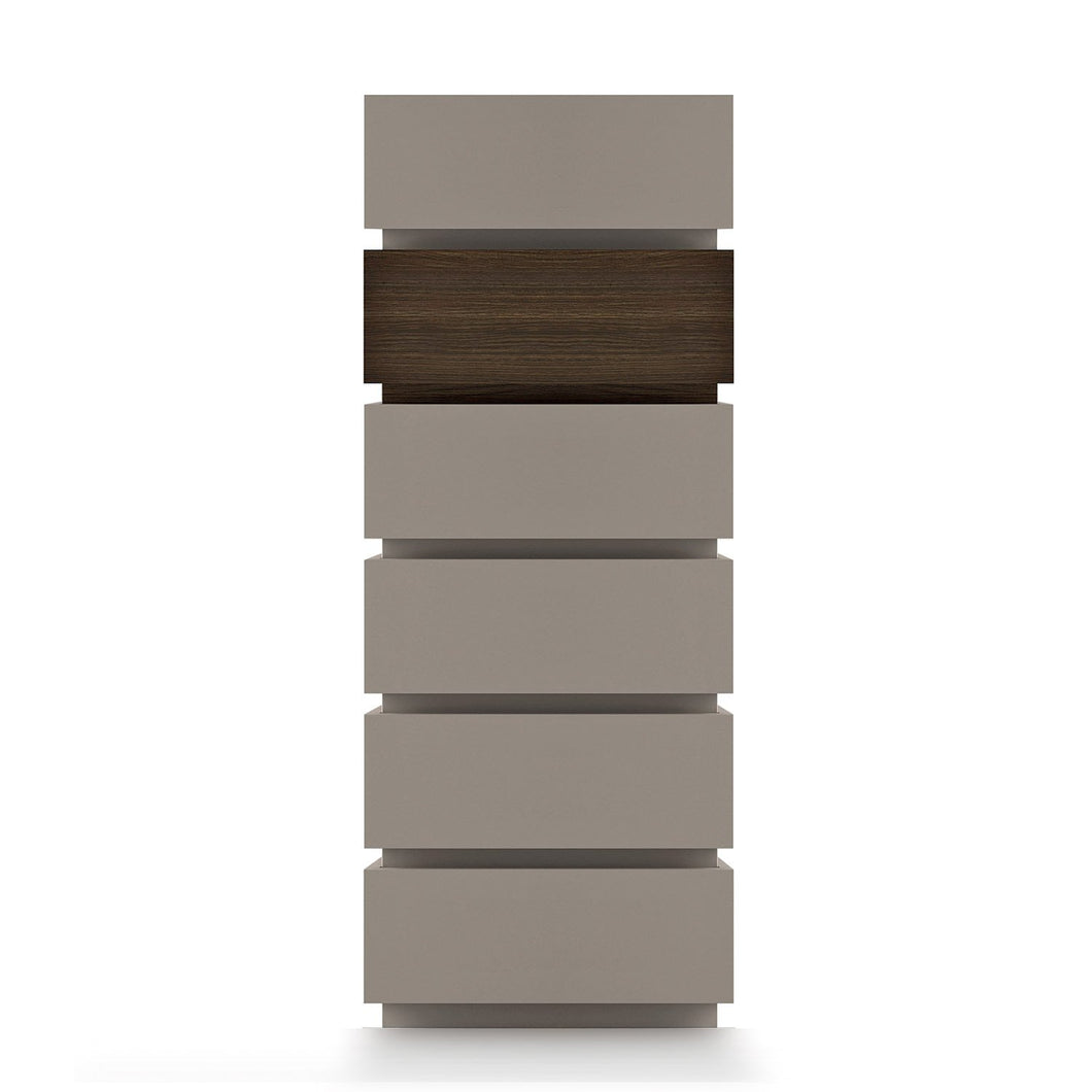 Super 6 drawer tallboy with inserts by Dall'Agnese